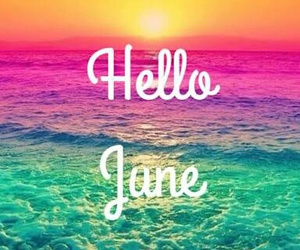 hello, welcome, and june image