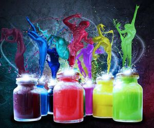 colors and dance image