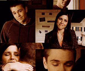 brooke, lucas, and one tree hill image