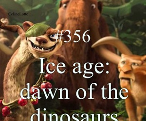 ice age, movie, and dawn of the dinosaurs image