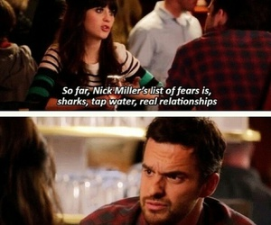 frienship, new girl, and nick miller image