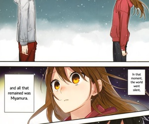 horimiya, manga, and hóri image