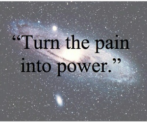 galaxy, pain, and power image