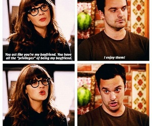 new girl, love, and nick miller image