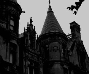 black, architecture, and dark image