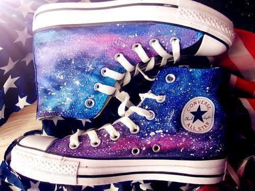 girls converse galaxy