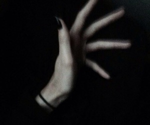 black and hands image