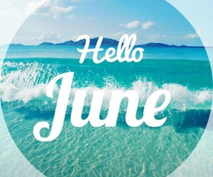 summer, june, and love image