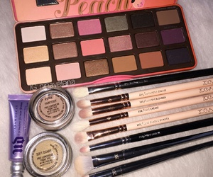 makeup, Brushes, and eyebrows image