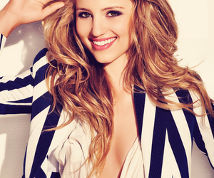 dianna agron, glee, and blonde image