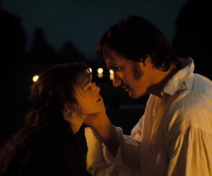 couple, lizzie bennet, and mr darcy image