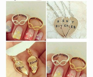 bff, rings, and best friends forever image