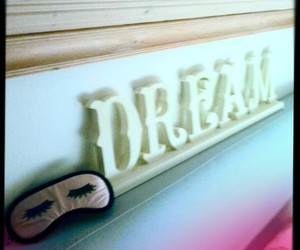 Dream and eyes image