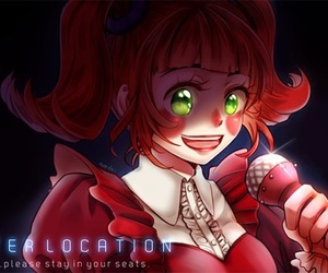 sister location, five nights at freddy's, and fnaf image