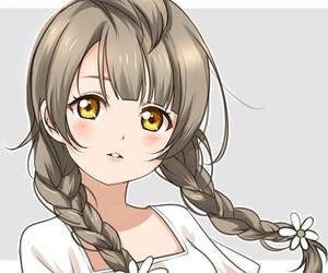 anime, love live, and kotori minami image