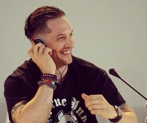 baby, smile, and tom hardy image