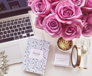 flowers, gadgets, and life image