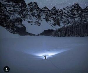 mountain, skating, and snow image