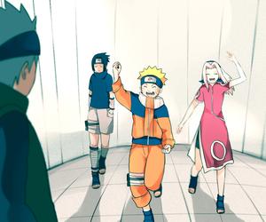 anime, kakashi, and kawaii image