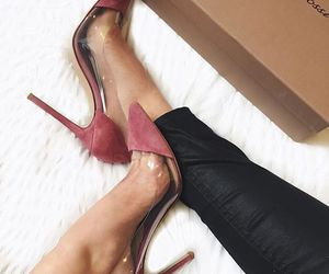 heels, pumps, and gianvitto rossi image
