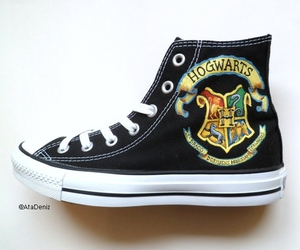 converse hogwarts shoe and its+official+i+need image