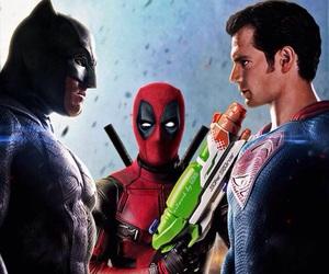 batman, movie, and dead pool image