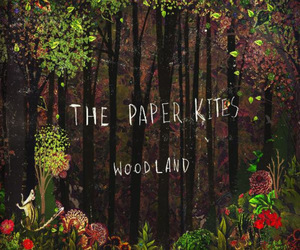 the paper kites, woodland, and music image