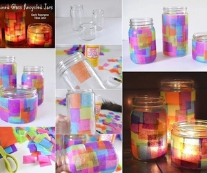 diy, tutorial, and candle image