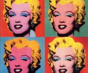 pop art, marilyn, and Marilyn Monroe image
