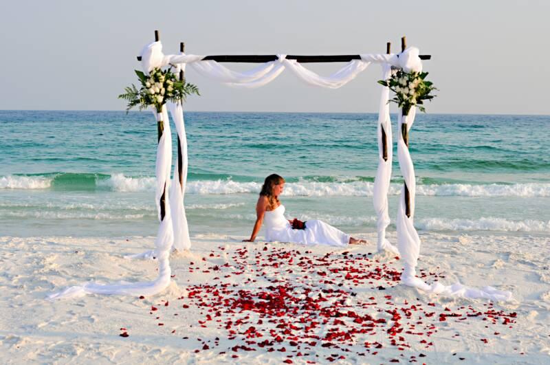 Destin Beach Weddings Florida