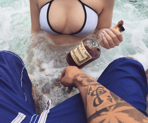 dope, ghetto, and hennessy image