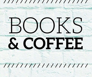 books, coffee, and easel image