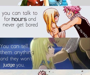 anime, nalu, and fairy tail image