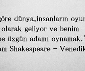 william shakespeare, edebiyat, and türkçe sözler image