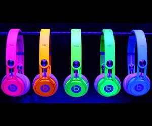 beats, blue, and green image