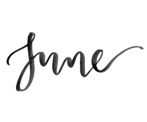 june, month, and background image