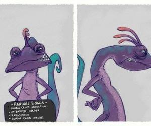 monster inc and villanos de disney image