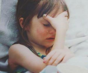 cry, sad, and child image