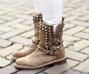 fashion, boots, and shoes image