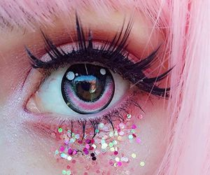 pink, cute, and glitter image