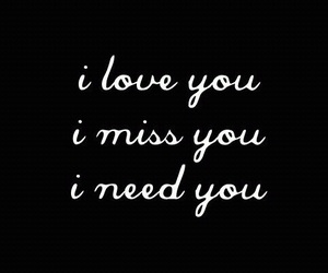 love, I Love You, and i miss you image