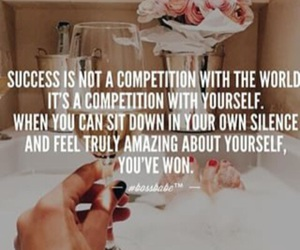 success, quotes, and competition image