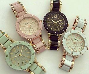 accessories, fashion, and watches image