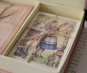 alice, book, and vintage image