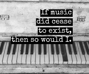exist, piano, and passion image