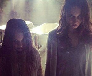 pll, spencer, and troian bellisario image