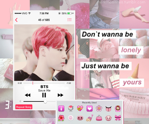 aesthetic and bts image