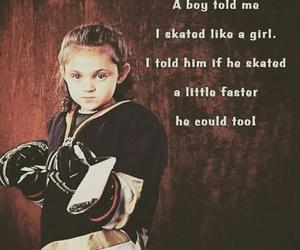 girl, hockey, and Ice Hockey image