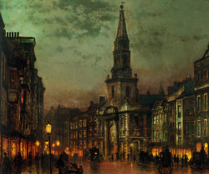 painting, art, and John Atkinson Grimshaw image