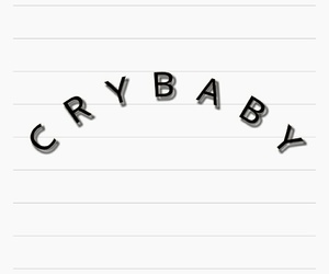 aesthetic, crybaby, and tumblr image